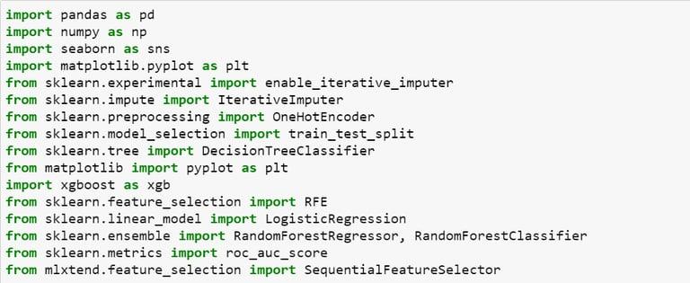 Correlation based feature selection Python